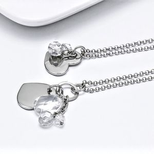 Gorgeous Dream Carnival Crystal ❤ Heart Necklace